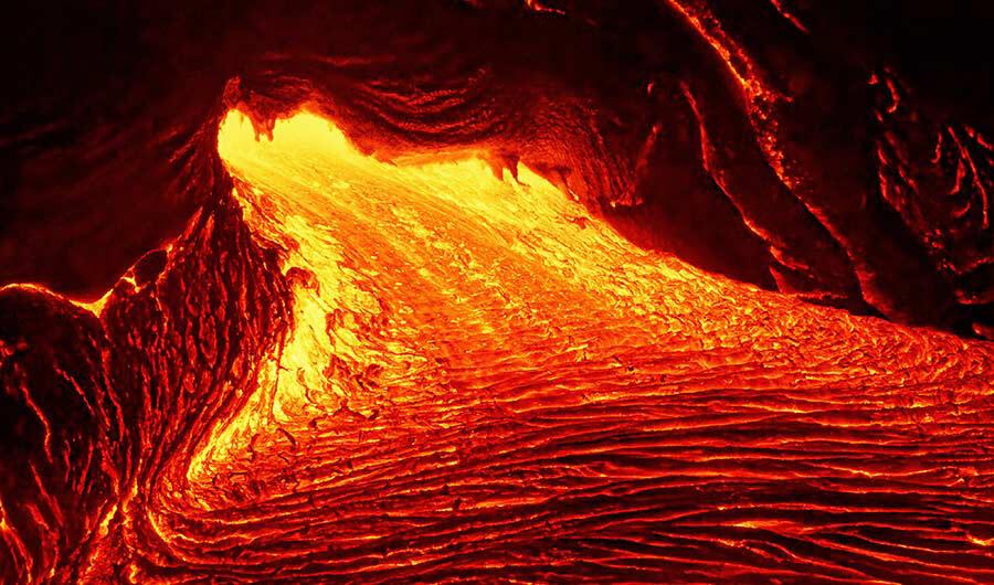 Vystoupení mastku z hlubin zemské kůry do zemského pláště