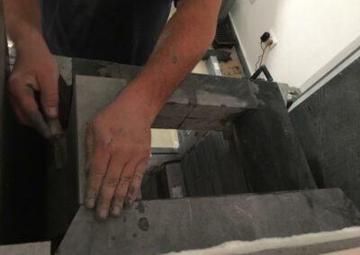 Montáž mastkových kamen Akustone